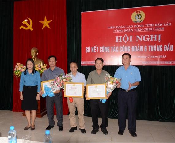 Công đoàn viên chức tỉnh triển khai nhiệm vụ 6 tháng cuối năm 2019
