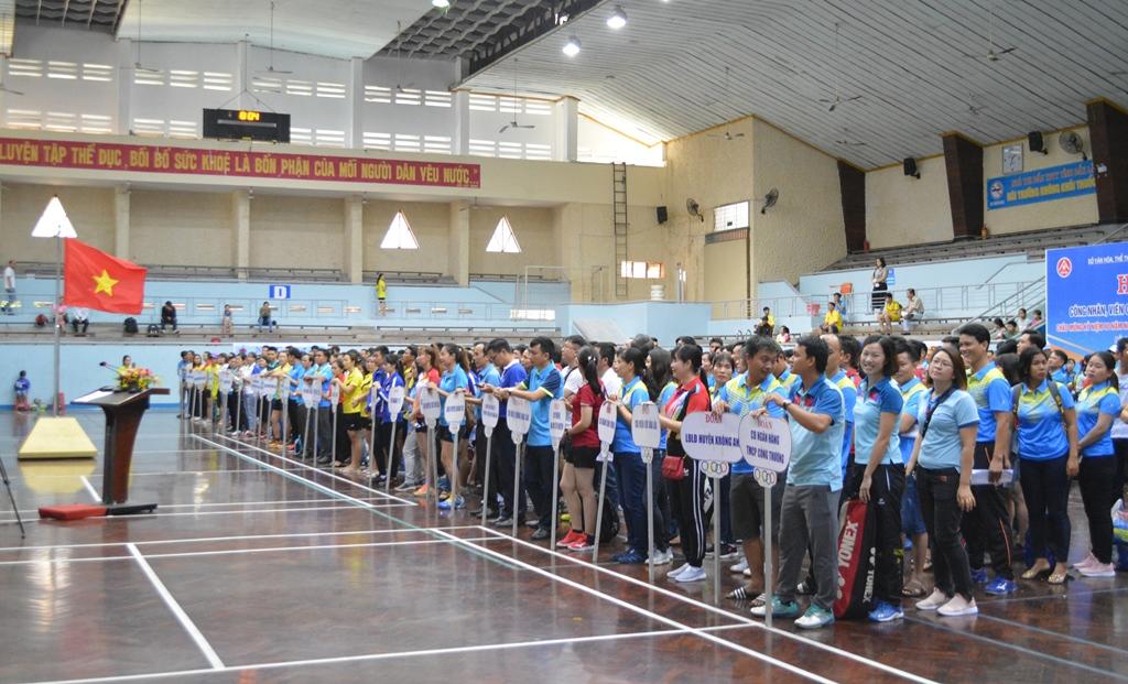 Khai mạc Hội thao Công nhân, viên chức, lao động năm 2019