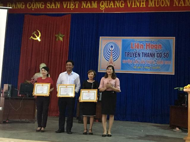 Huyện Lắk tổ chức Liên hoan Truyền thanh cơ sở lần thứ II năm 2019
