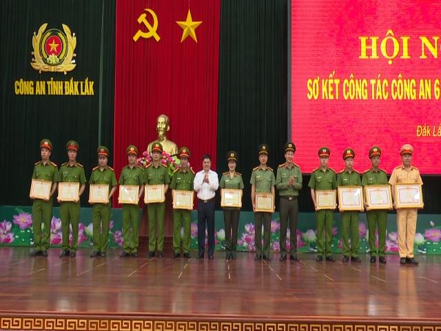 Công  an tỉnh Đắk Lắk sơ kết công tác 6 tháng đầu năm 2019