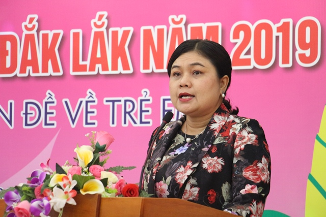 Diễn đàn trẻ em tỉnh Đắk Lắk năm 2019