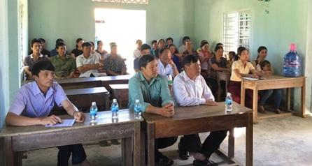 Huyện M'Đrắk khai giảng lớp dạy nghề nông thôn năm 2019