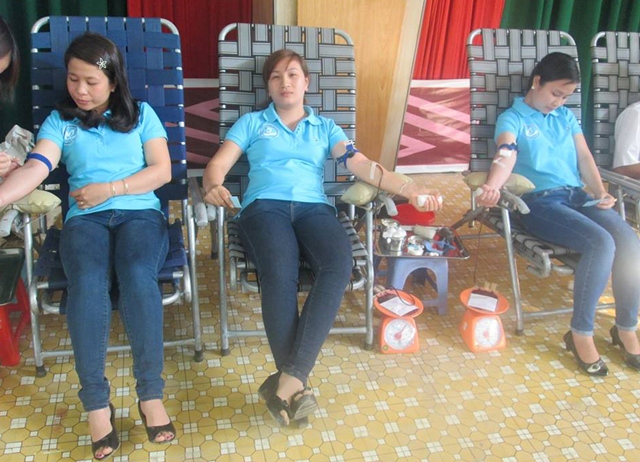 Xã Cư Kty, huyện Krông Bông: Cả gia đình cùng hiến máu tình nguyện