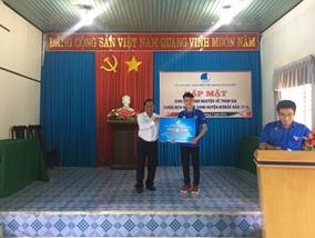 Huyện đoàn M'Drắk: Gặp mặt sinh viên tình nguyện tham gia chiến dịch tình nguyện Mùa hè xanh năm 2019.