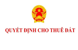 Cho Công ty TNHH MTV thương mại và nông sản Nhựt Lan thuê 765,9 m2 đất tại thị trấn Krông Năng