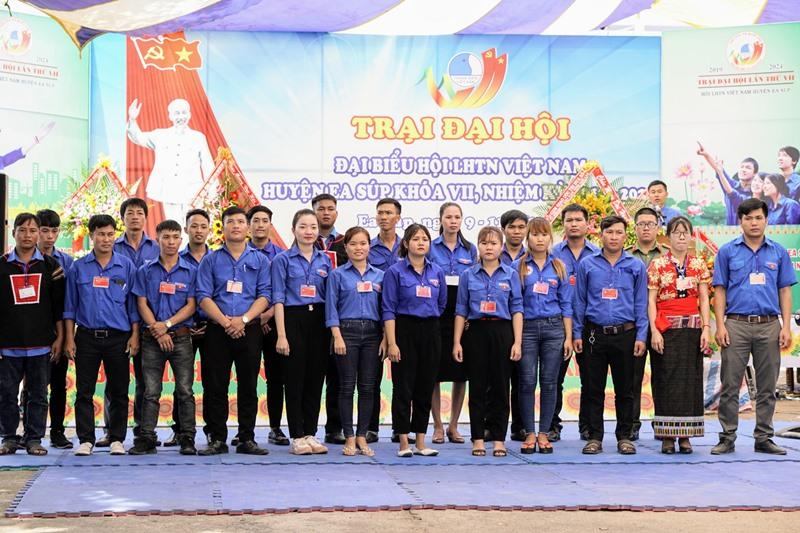 Trại Đại hội đại biểu Hội LHTN Việt Nam huyện Ea Súp khóa VII, nhiệm kỳ 2019 - 2024