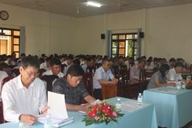 Hội nghị Ban Chấp hành Đảng bộ huyện Cư Kuin lần thứ 26 (mở rộng) nhiệm kỳ 2015-2020
