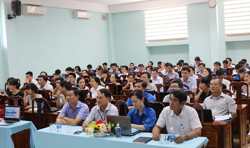 Công đoàn Viên chức tỉnh triển khai phần mềm quản lý đoàn viên.