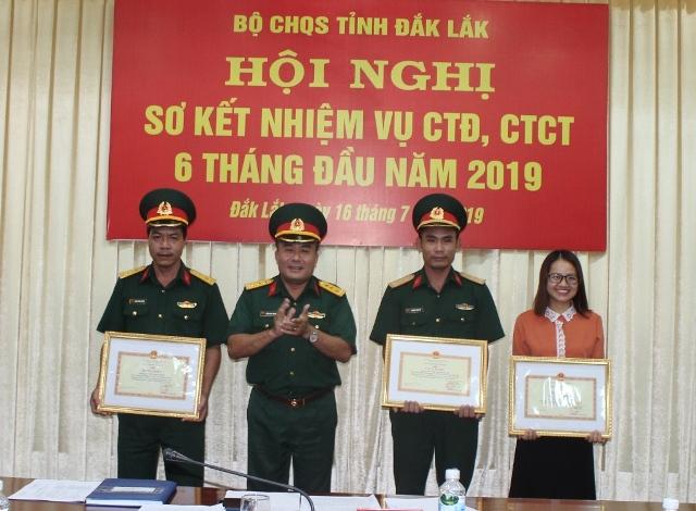 Sơ kết nhiệm vụ công tác Đảng, công tác chính trị 6 tháng đầu năm 2019