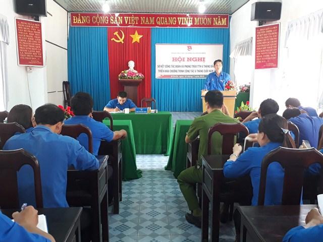 Huyện đoàn M'Đrắk sơ kết công tác đoàn và phong trào thanh thiếu nhi 06 tháng đầu năm 2019
