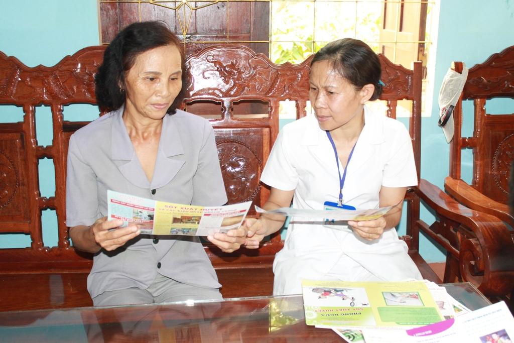 Tăng cường biện pháp phòng chống dịch sốt xuất huyết trên địa bàn