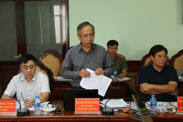 Đoàn kiểm tra của Ban Bí thư Trung ương làm việc với Đảng ủy, lãnh đạo Công an tỉnh Đắk Lắk