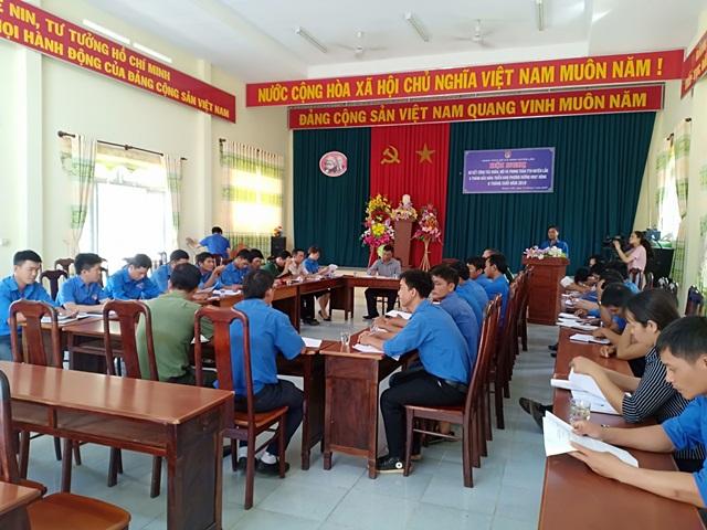Huyện Lắk sơ kết công tác Đoàn, Hội và phong trào thanh thiếu nhi 6 tháng đầu năm 2019