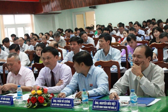 Khai mạc Kỳ họp thứ 8, HĐND thành phố Buôn Ma Thuột khóa XI nhiệm kỳ 2016 - 2021