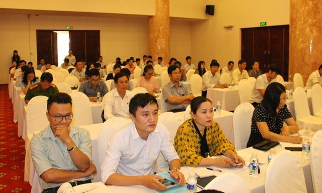Tập huấn kiến thức thương mại điện tử cho cán bộ, doanh nghiệp, hợp tác xã trên địa bàn tỉnh