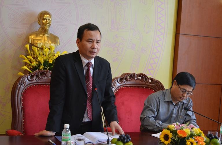 Tỉnh ủy làm việc với đoàn công tác của Ban Dân vận Trung ương.