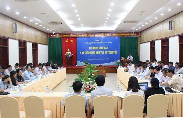 Hội nghị giao ban y tế dự phòng khu vực Tây Nguyên