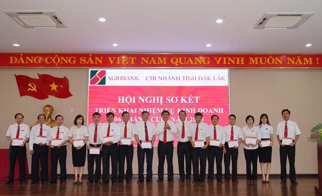 Agribank Đắk Lắk sơ kết hoạt động kinh doanh 6 tháng đầu năm 2019