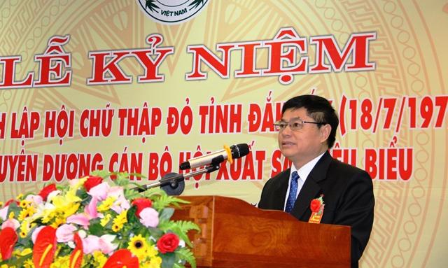 Lễ kỷ niệm 40 năm thành lập Hội Chữ thập đỏ tỉnh Đắk Lắk