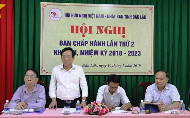 Hội nghị Ban Chấp hành Hội hữu nghị Việt Nam- Nhật Bản lần thứ 2, khóa III, nhiệm kỳ 2018-2023