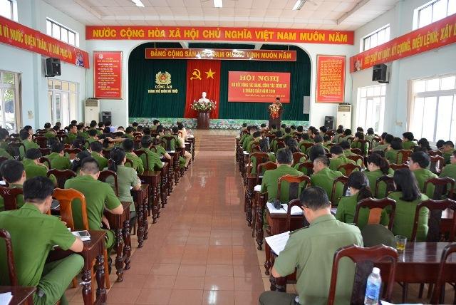Công an thành phố Buôn Ma Thuột triển khai công tác 6 tháng cuối năm 2019.