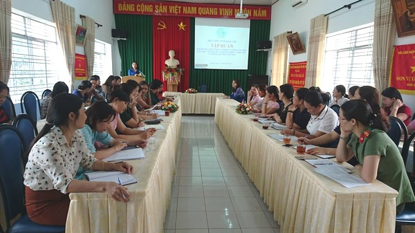 Đề án bồi dưỡng cán bộ, công chức Hội Liên hiệp Phụ nữ các cấp và chi hội trưởng trên địa bàn tỉnh giai đoạn 2019-2025