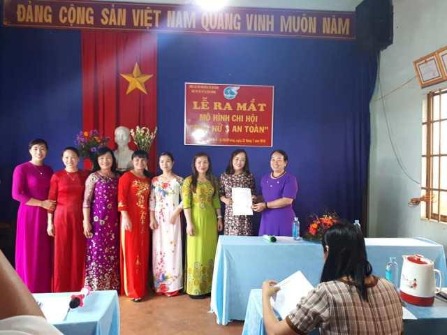"""Hội LHPN huyện Cư M'gar ra mắt mô hình điểm """"Chi hội Phụ nữ 3 an toàn"""" tại xã Cư Dliê Mnông"""