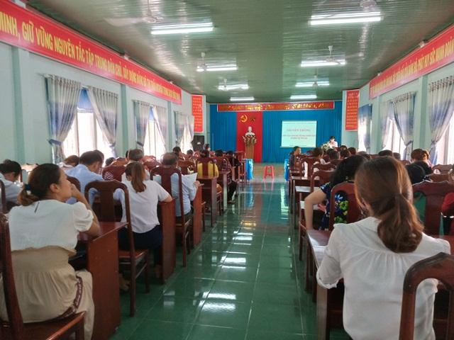 Truyền thông giáo dục cha mẹ trong chăm sóc và bảo vệ trẻ em tại huyện M'Đrắk