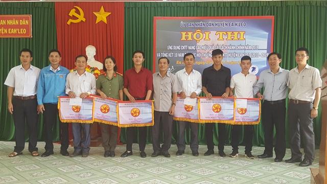Hội thi ứng dụng công nghệ thông tin nâng cao hiệu quả cải cách hành chính huyện Ea H'Leo