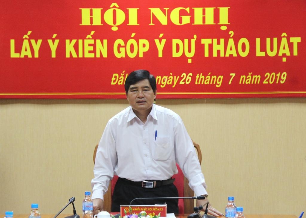 Đoàn Đại biểu Quốc hội tỉnh lấy ý kiến góp ý dự thảo Luật Thanh niên (sửa đổi)