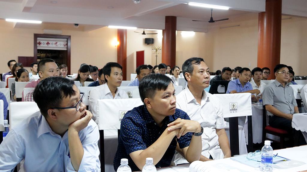 Tập huấn công tác đăng ký bảo hộ quyền sở hữu trí tuệ đối với đặc sản địa phương