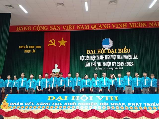Đại hội đại biểu Hội LHTN Việt Nam huyện Lắk lần thứ VIII, nhiệm kỳ 2019 - 2024