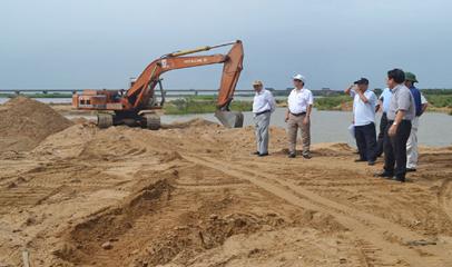 Phê duyệt Phương án đấu giá quyền khai thác mỏ cát làm vật liệu xây dựng thông thường tại sông Ea H'Leo