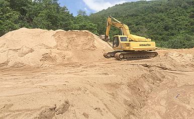 Phê duyệt Phương án đấu giá quyền khai thác mỏ cát làm vật liệu xây dựng thông thường tại sông Krông H'Năng