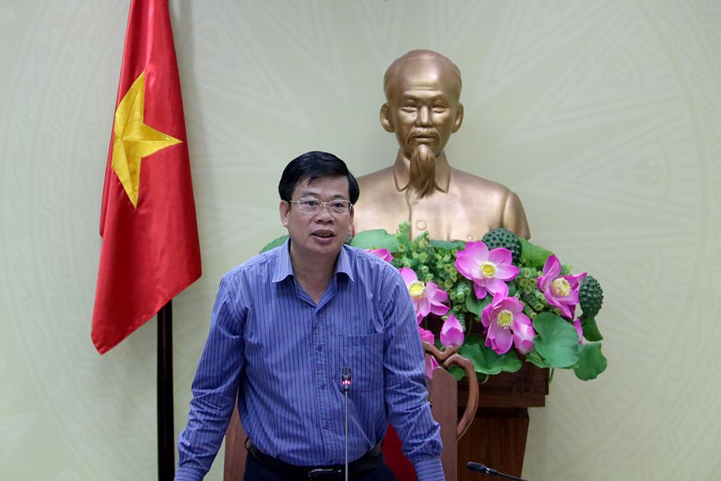 Tổ công tác của Chủ tịch UBND tỉnh làm việc với UBND huyện M'Drắk