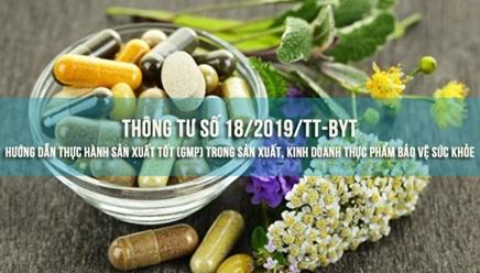 Triển khai Thông tư số 18/2019/TT-BYT ngày 17/7/2019 của Bộ Y tế