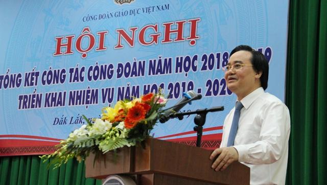Công đoàn Giáo dục Việt Nam tổng kết công tác công đoàn năm học 2018-2019