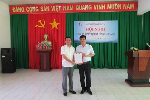 Phân hiệu Trường Đại học Luật Hà Nội tại tỉnh Đắk Lắk công bố Quyết định về công tác cán bộ