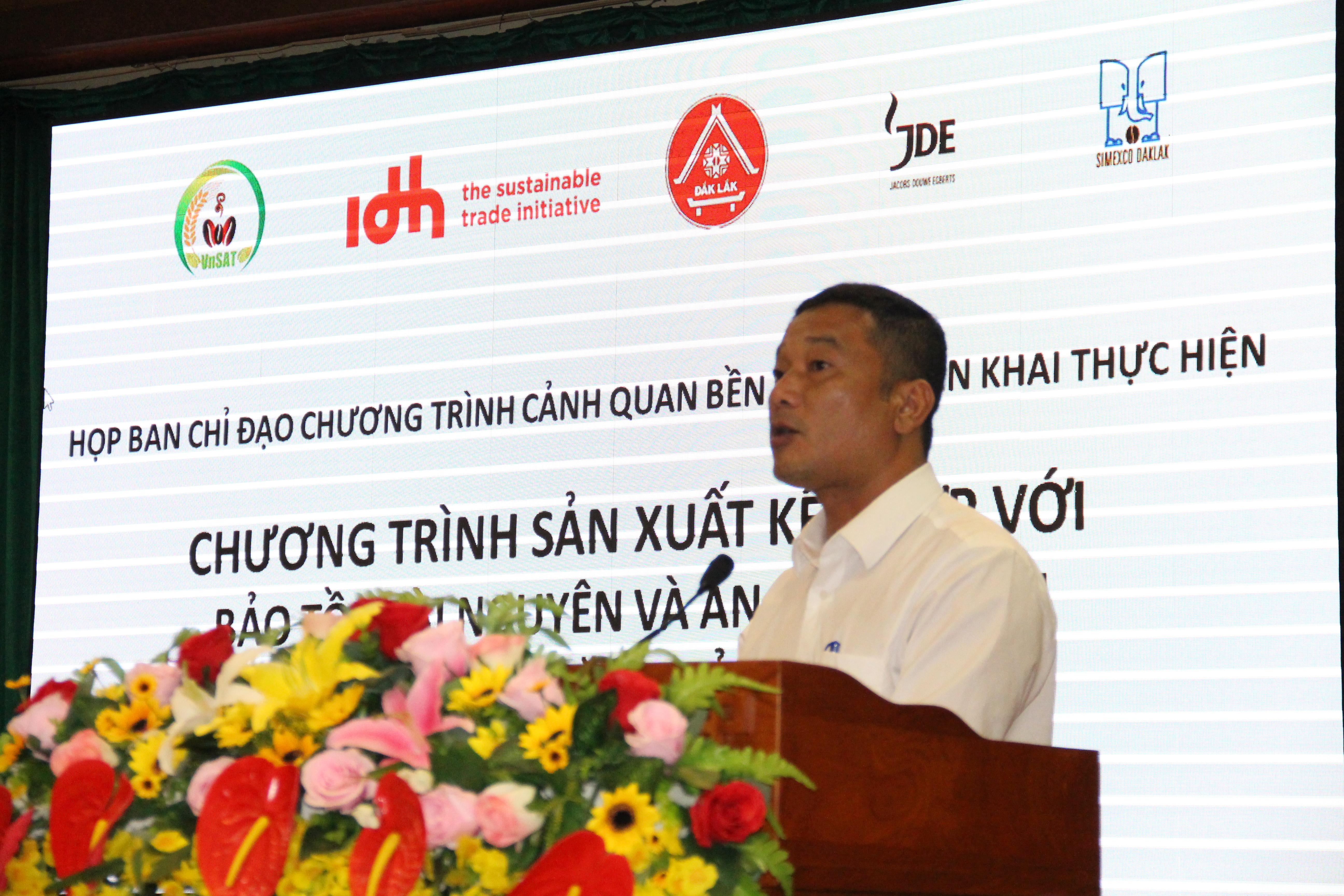 Khởi động Chương trình sản xuất kết hợp với bảo tồn tài nguyên và an sinh xã hội tại huyện Krông Năng