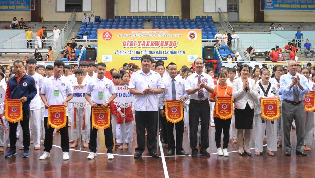 Khai mạc Giải Taekwondo vô địch các lứa tuổi tỉnh Đắk Lắk năm 2019