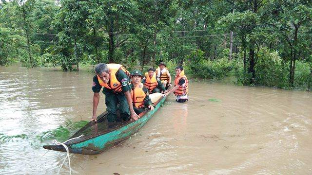 BĐBP Đắk Lắk cứu hộ lực lượng bảo vệ biên giới và người dân Campuchia