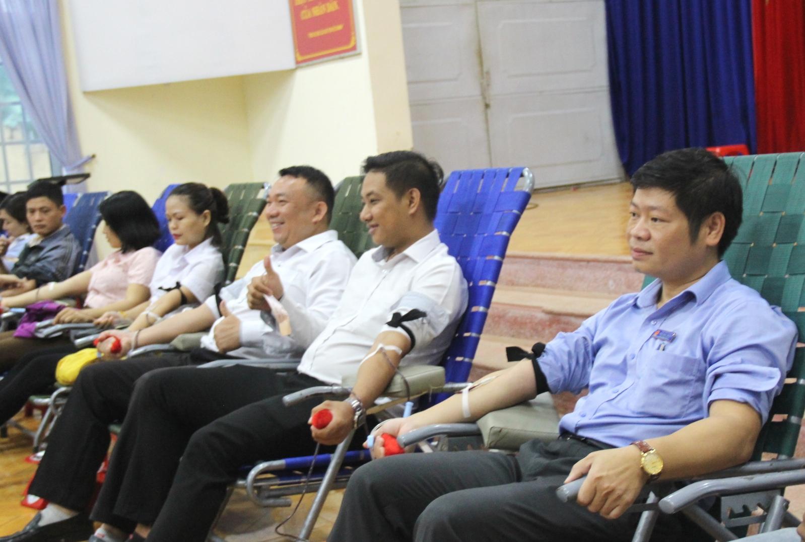 Tiếp nhận 247 đơn vị máu từ Ngày hội hiến máu tình nguyện đợt 4 năm 2019