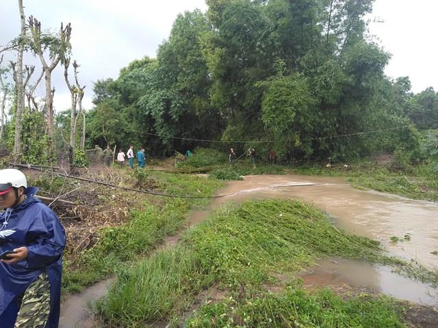 Huyện Cư M'gar:  Một người dân bị lũ cuốn trôi