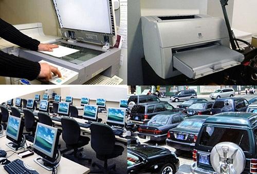 Thống nhất ban  hành tiêu chuẩn, định mức sử dụng máy móc, thiết bị chuyên dùng thuộc lĩnh vực GDĐT.