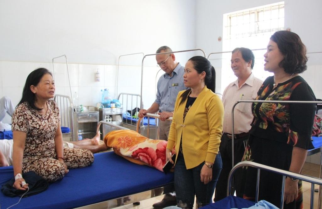 Kiểm tra công tác phòng chống sốt xuất huyết tại huyện Cư M'gar