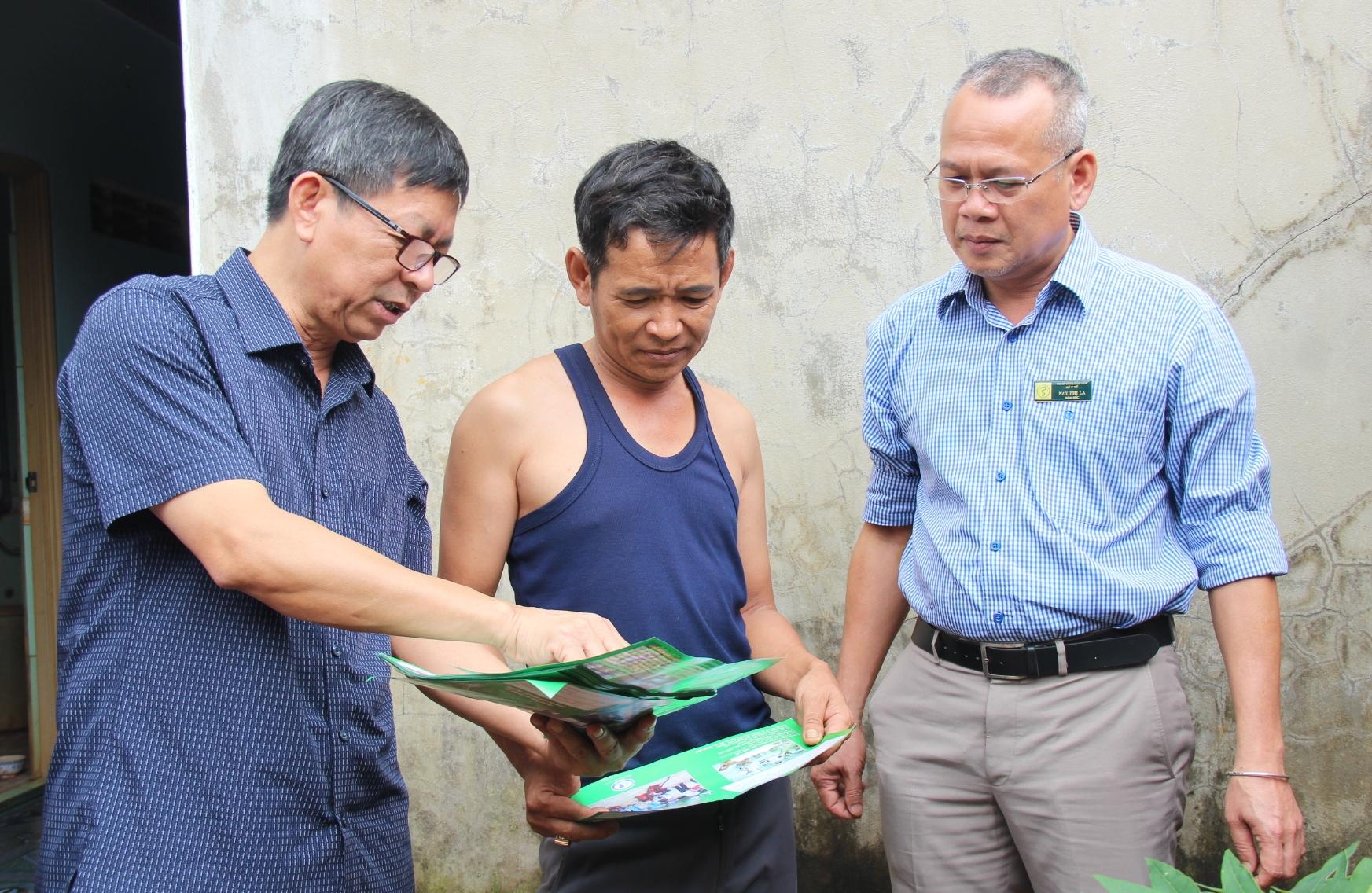 Kiểm tra công tác phòng chống sốt xuất huyết tại huyện Krông Búk