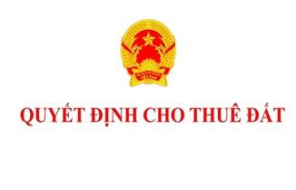 Cho Công ty TNHH Thảo Tây Nguyên thuê 560m2 đất tại phường Thành Nhất, thành phố Buôn Ma Thuột