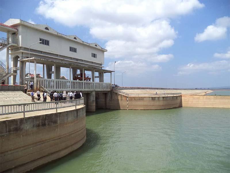 Tiếp nhận công trình thủy lợi hồ chứa nước Đ'rao II