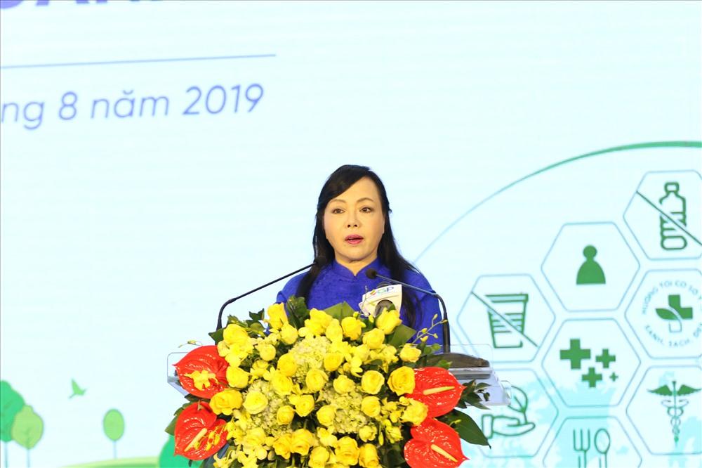 Triển khai giảm thiểu chất thải nhựa trong ngành Y tế