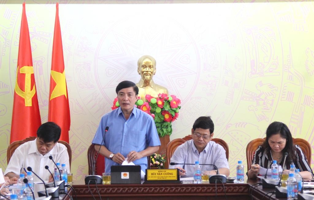 Duy trì và nâng cao chất lượng công tác phối hợp giữa Văn phòng Tỉnh ủy, Văn phòng HĐND tỉnh và Văn phòng UBND tỉnh